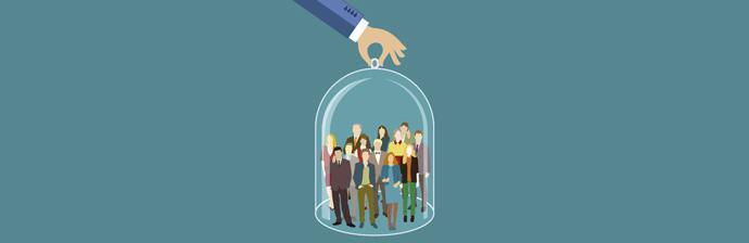 O Marketing de Relacionamento impede que o cliente vá para a empresa concorrência.